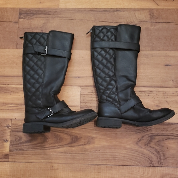Stevies Shoes   Black Knee High Boots